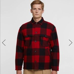 Woolrich Button Up Coat